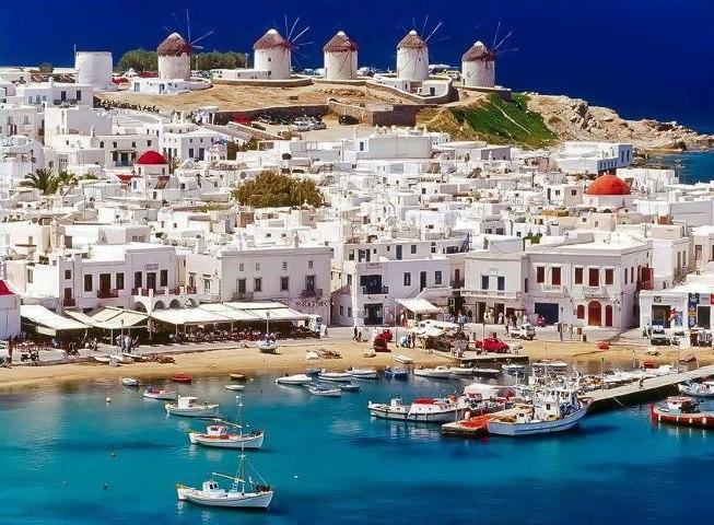 Mikonos Island Greece
